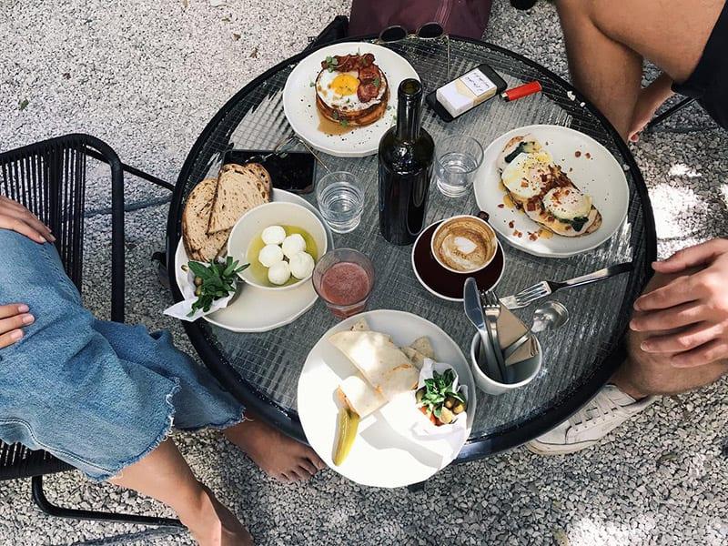koffie in beirut bij kalei coffee co
