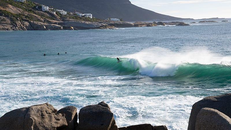 Surfen in kaapstad bij Llandudno
