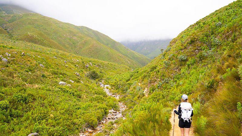 Hike in Jonkershoek Kaapstad