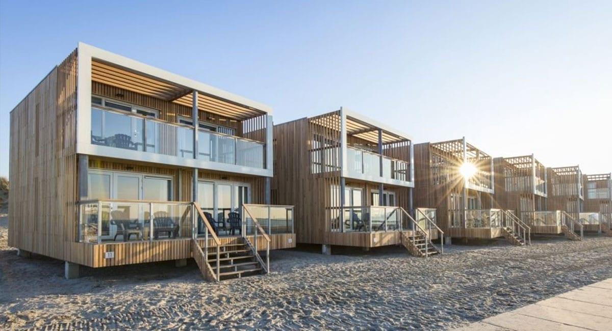 Genieten van een vakantie in Nederland aan het strand in deze strandhuizen