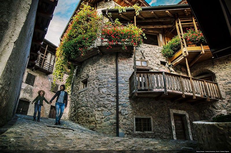 Canale di Tenno een van de dorpen in Trentino