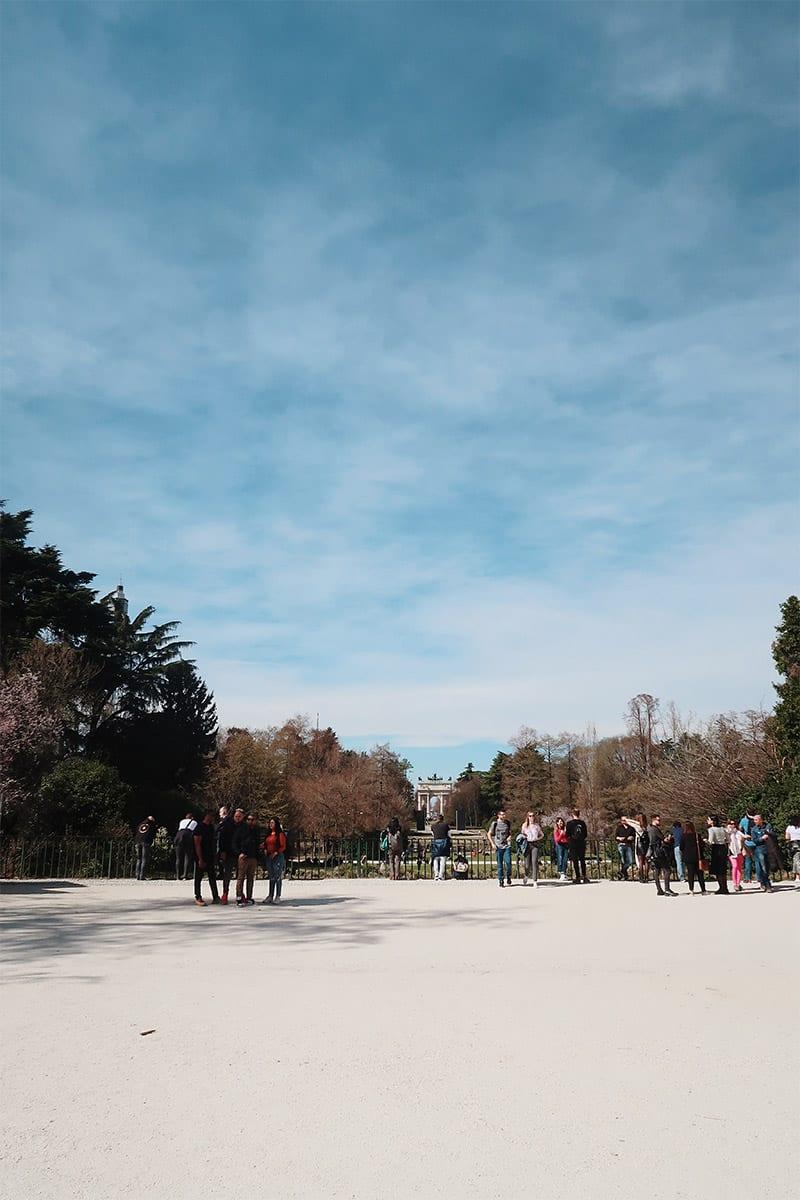 Sempione Park in Milaan