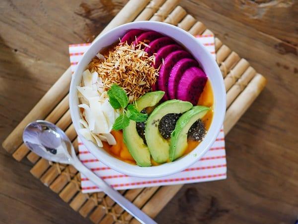 Thais fruit ontbijtje