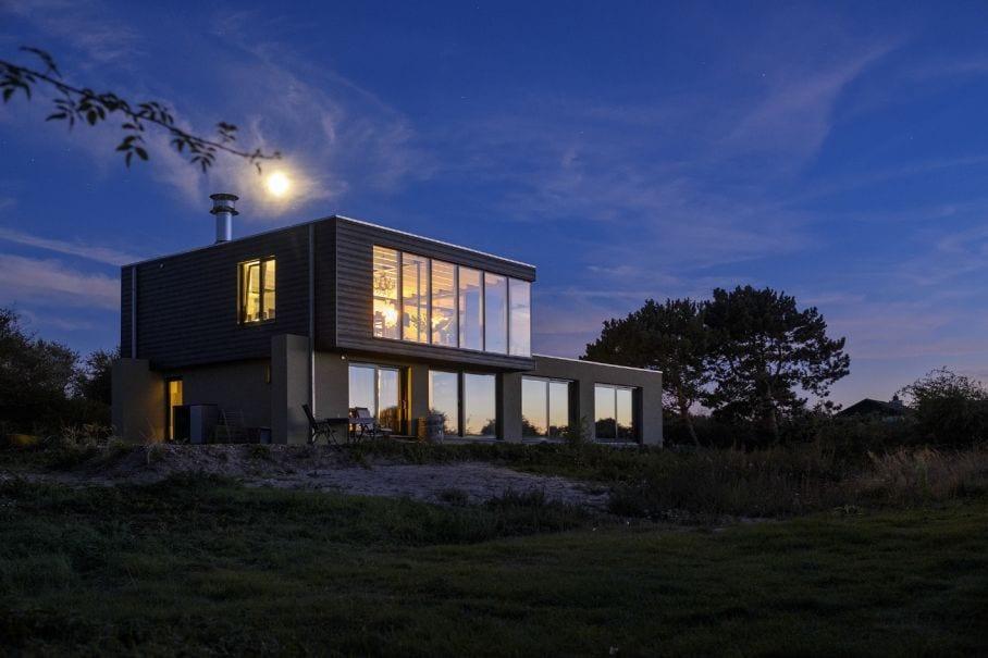 Ervaar tijdens een vakantie in Nederland leven in de duinen in Zeeland