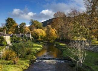 Het mooie landschap bij The Fairy Glen