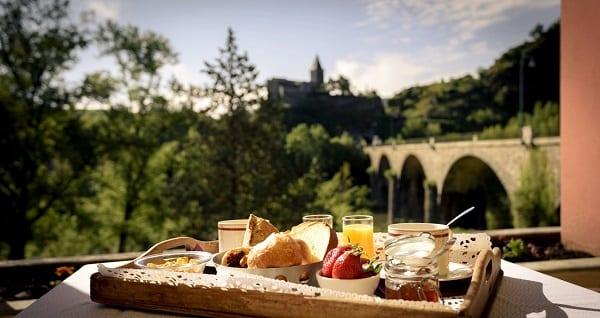 Ontbijt in Franktijk