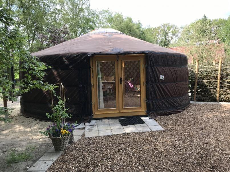 Slapen in een Mongoolse Yurt