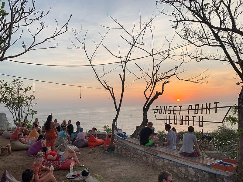 Uluwatu sunset point