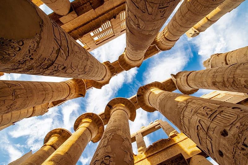 Luxor tempel in egypte