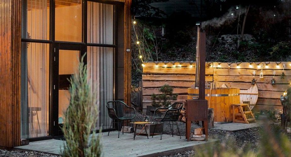 droompark maasduinen tinyhouse glamping in Nederland