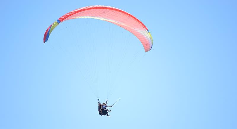paragliden in kaapstad