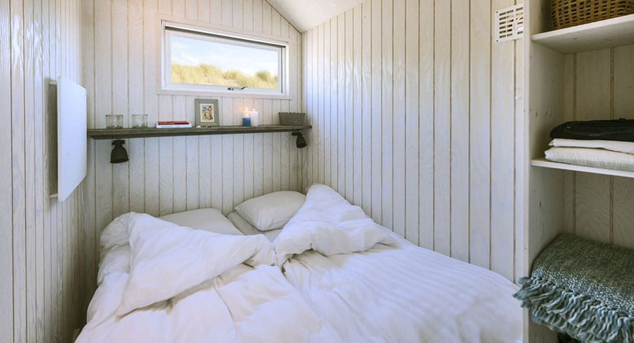 haagse strandhuisjes glamping in Nederland
