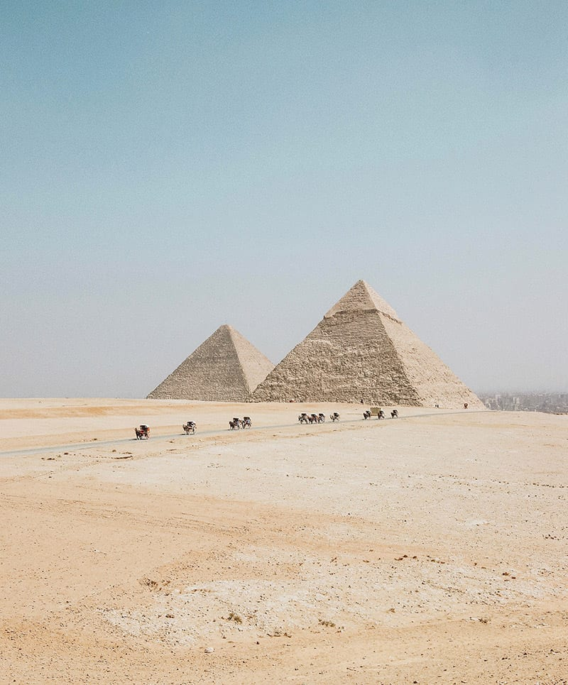 piramides in egypte