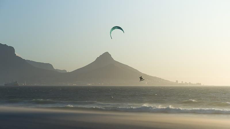 Kitesurfen in Kaapstad