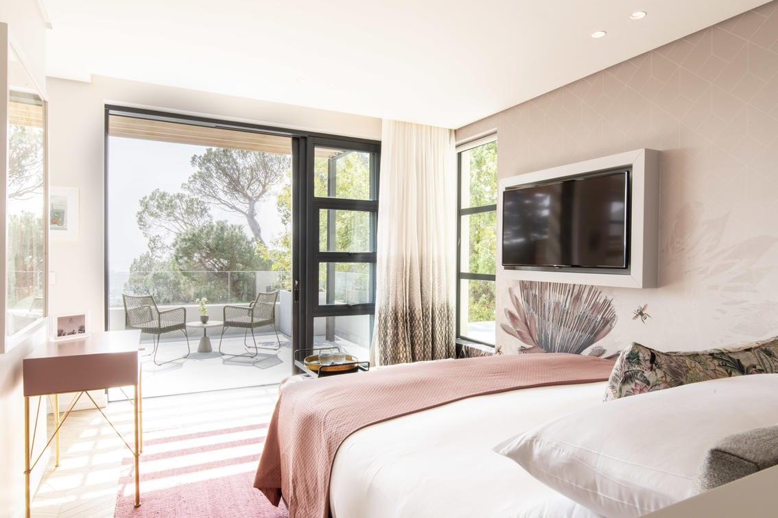 Slaapkamer in Camissa House hotel in Kaapstad