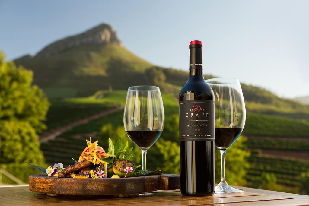 Culinair genieten van wijn en eten bij Delaire Graff in Stellenbosch