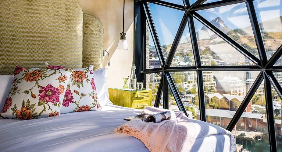 Een kamer in Hotel The Silo