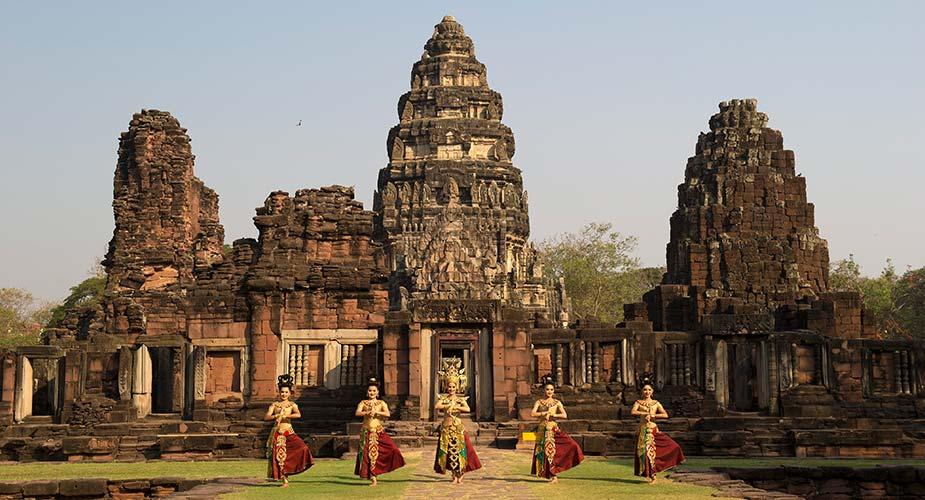 Oude tempel in Phimat bij Nakhon Ratchasima
