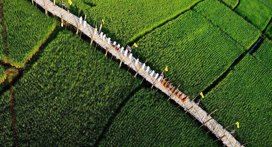 Tip voor je reis naar Thailand, wandelen over de Su Tong Pe brug