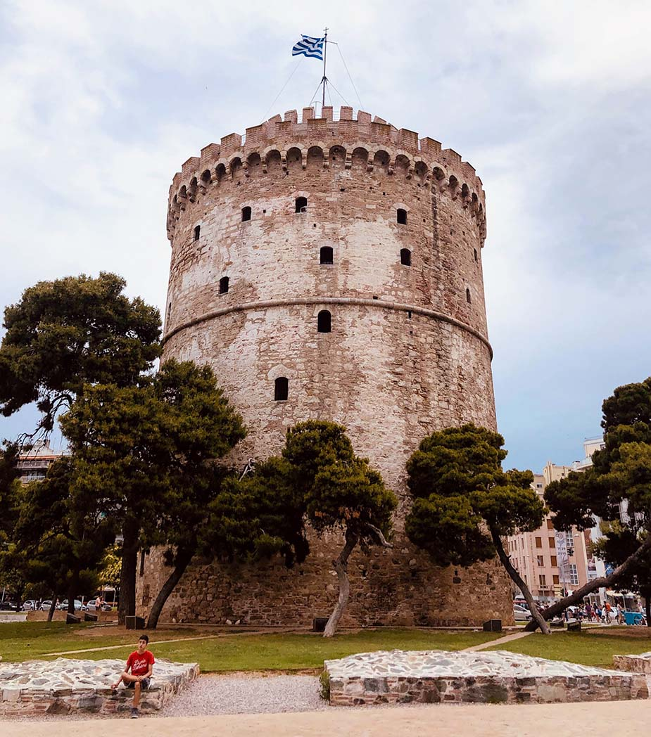 Witte toren roadtrip vanuit Thessaloniki
