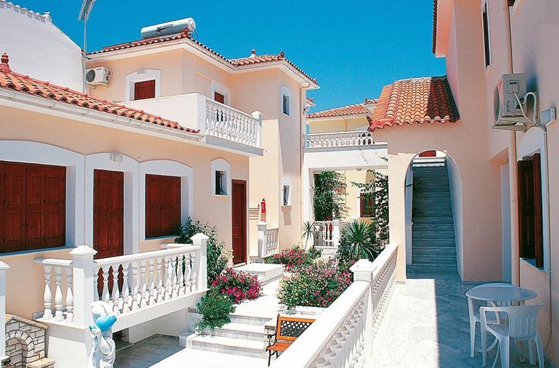 Appartementen Alkion op Samos