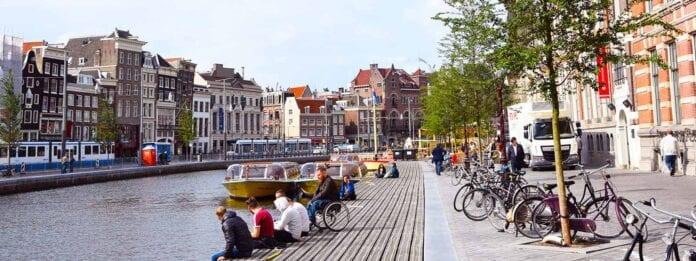 Gracht Rokin Amsterdam