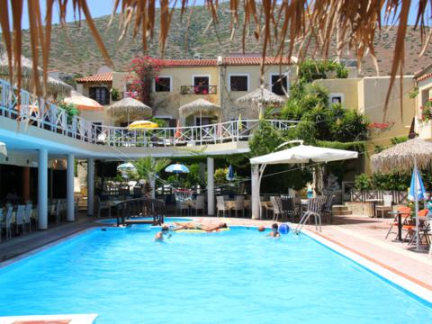 Zwembad van Appartmenten Sun Club Olympia zwembad