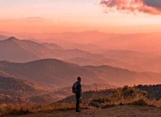 De bergachtige omgeving van Chiang Mai