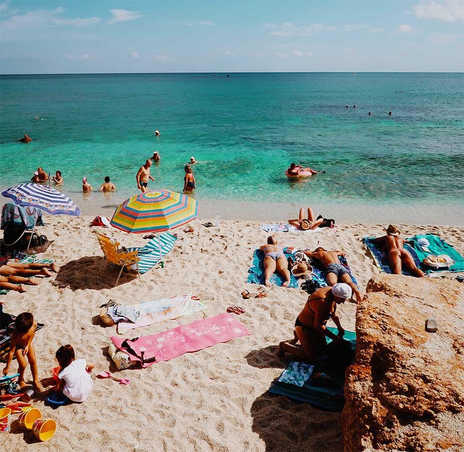 stranden op kreta