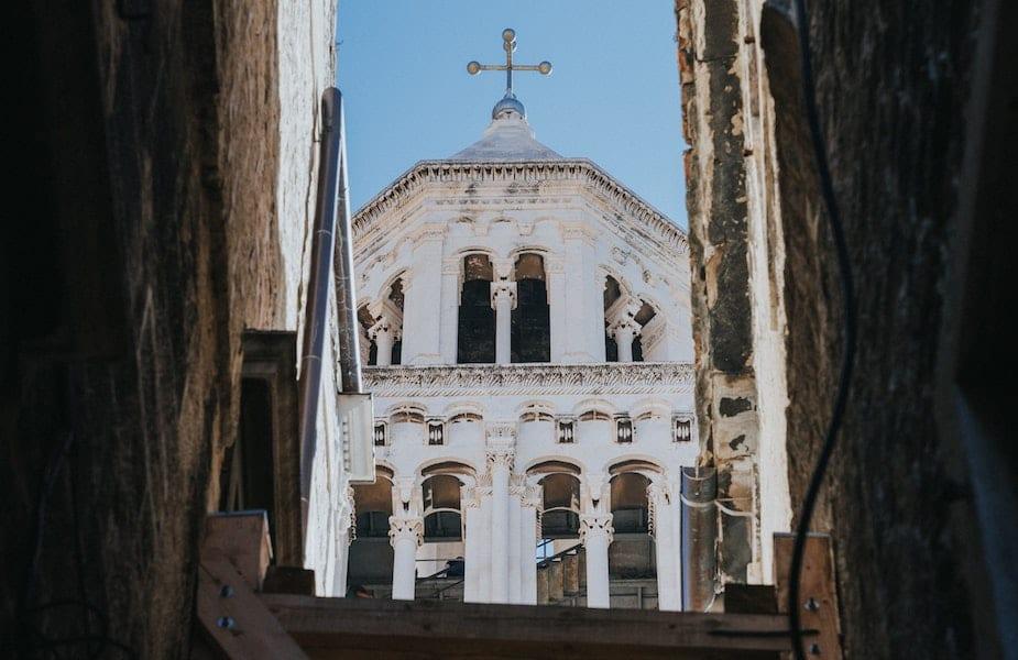 Kerk Diocletianus Split
