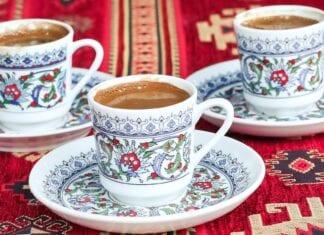 Turkse koffie koffiekopjes