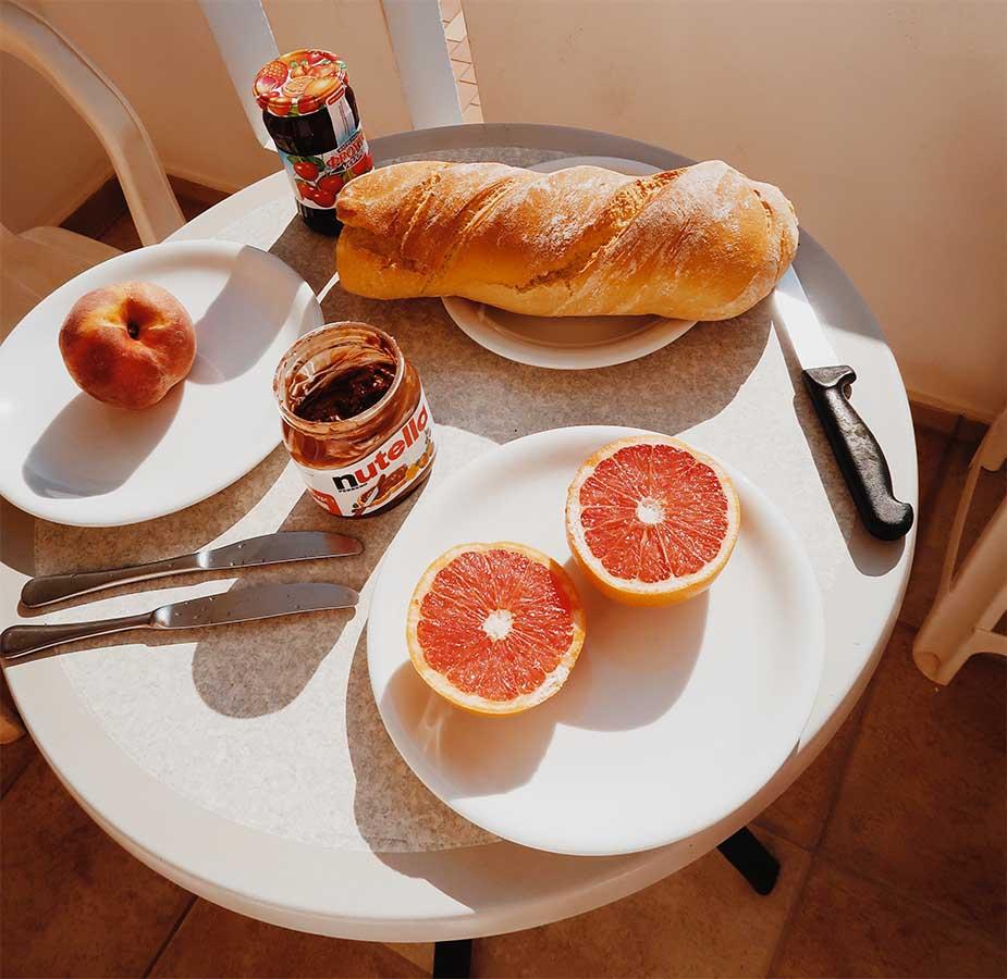 ontbijten op kreta