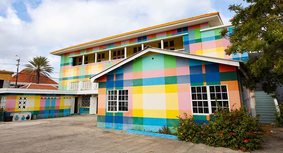 Street art Curaçao Favela Paint Academy