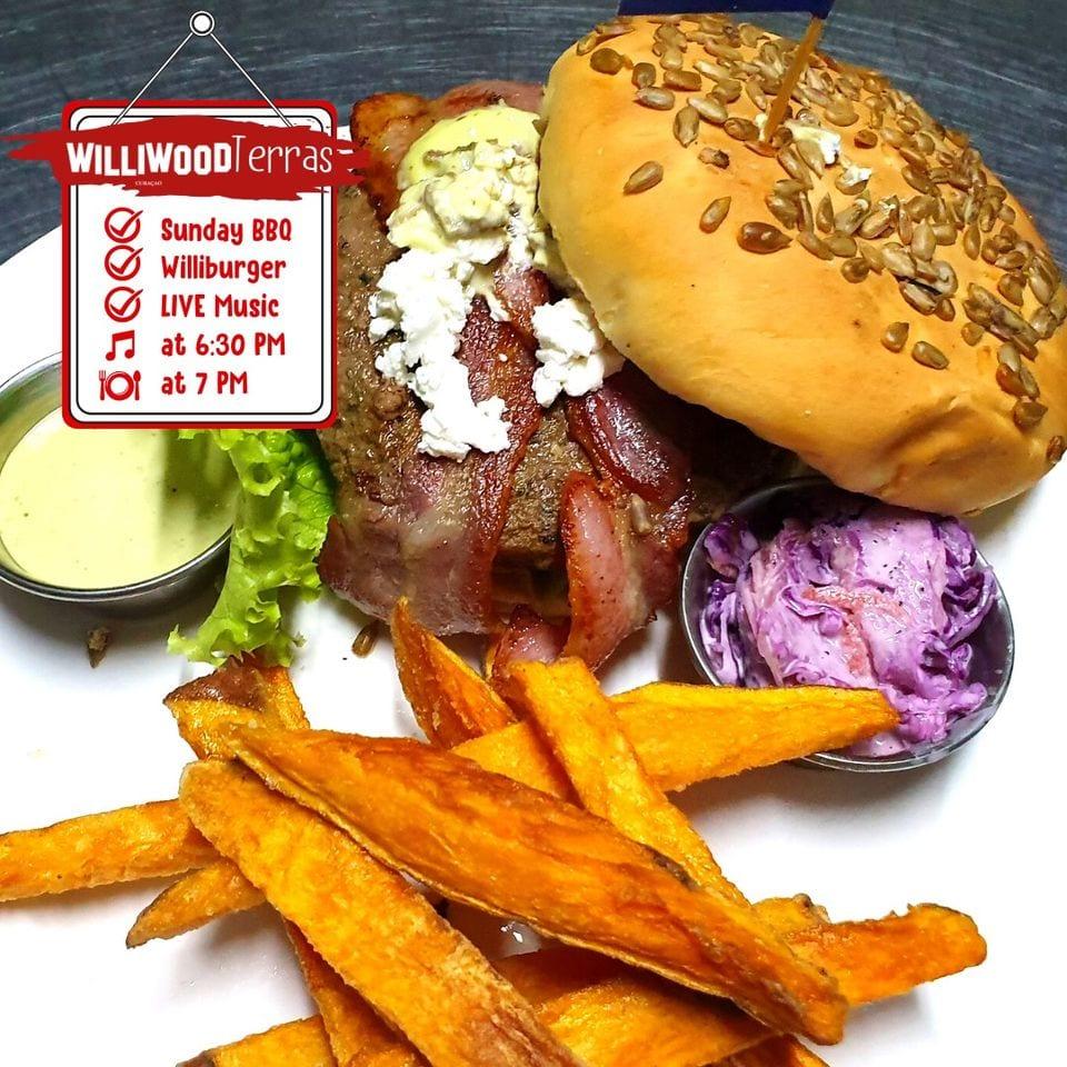 Het Kabritu Burger menu bij Williwood