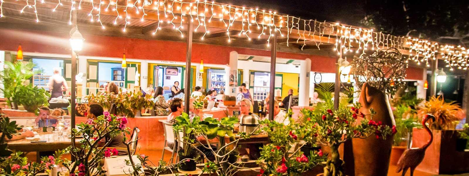Terras van Landhuis Daniel op Curacao