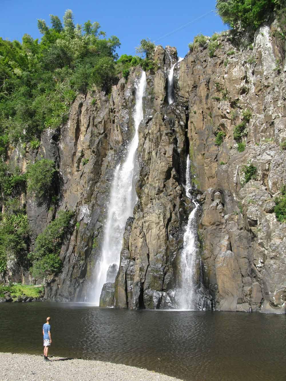 De waterval 'Cascada Niagara' op La Réunion