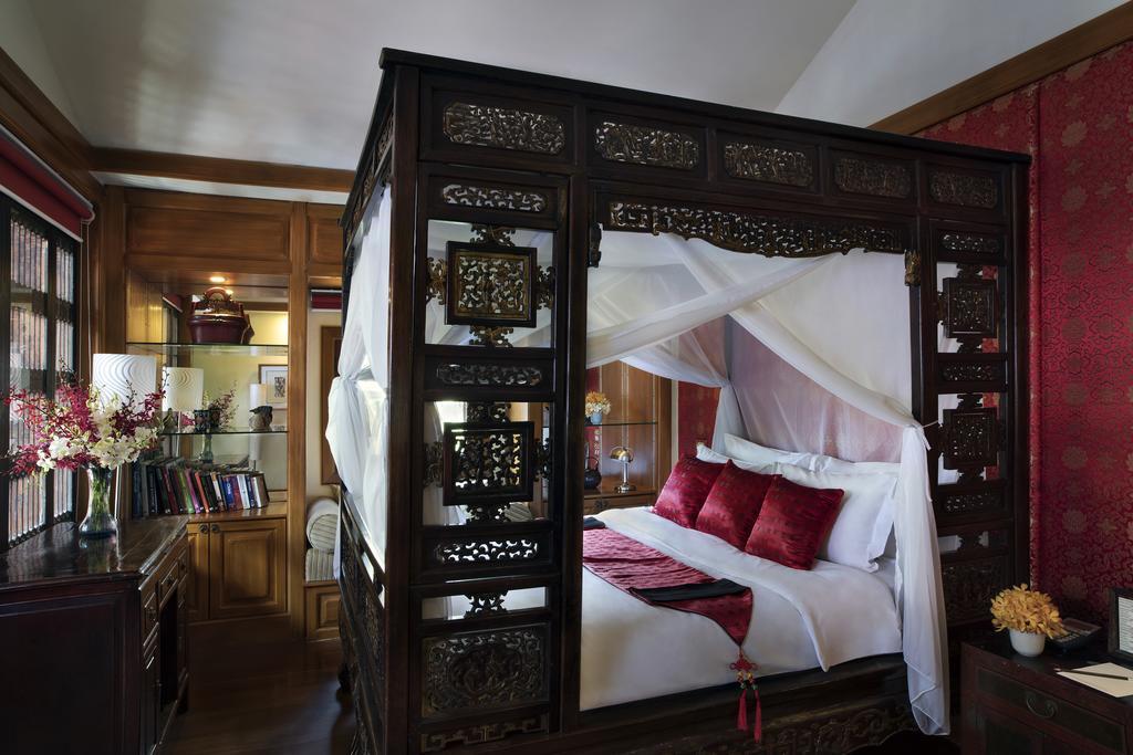 Interieur kamer Chakrabongse Villas