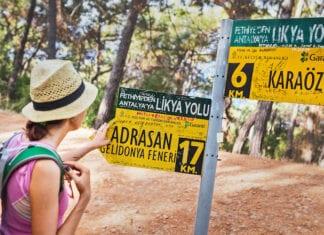 Wandelroutes Turkije