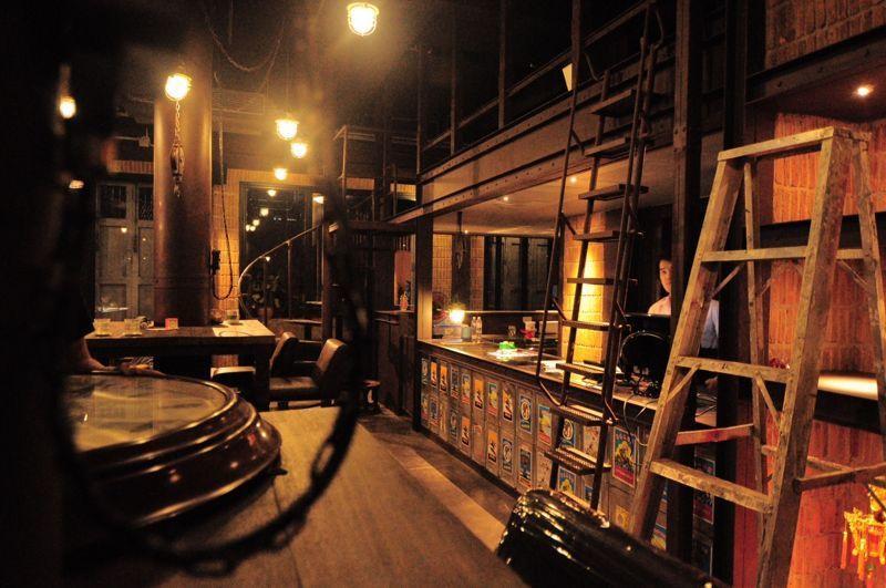 Bar van het hotel Inn A Day in Bangkok