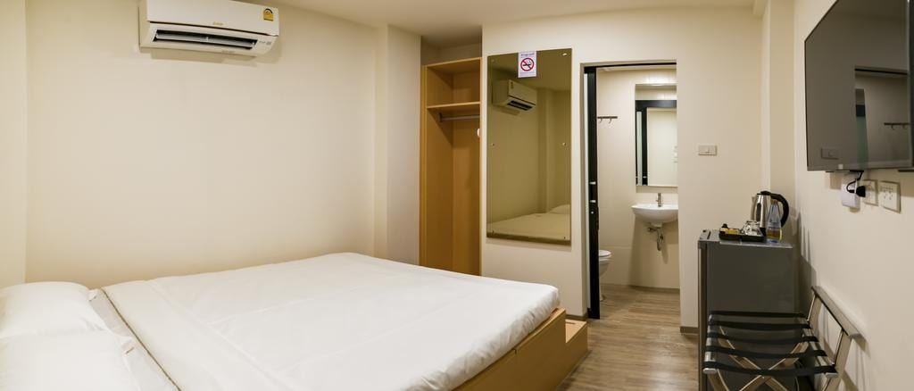 Kamer van het P18 hotel