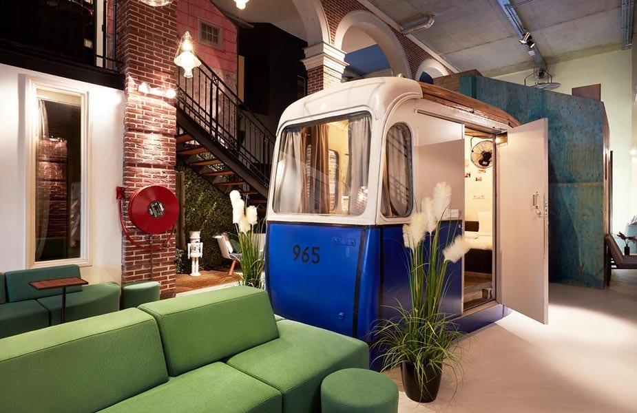 bijzondere hotels in amsterdam hotel not hotel