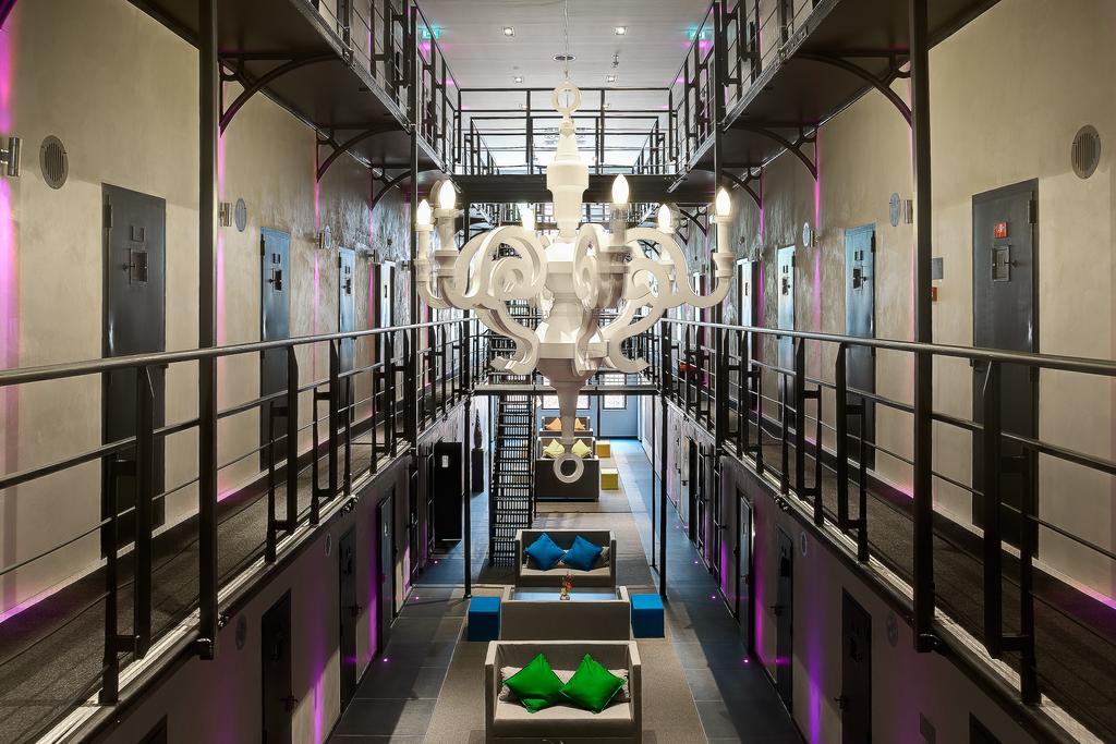 het oude cellenblok van het arresthuis in Roermond