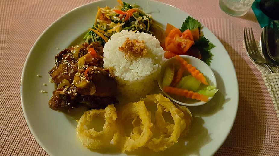 Diner vanuit de Indonesische keuken