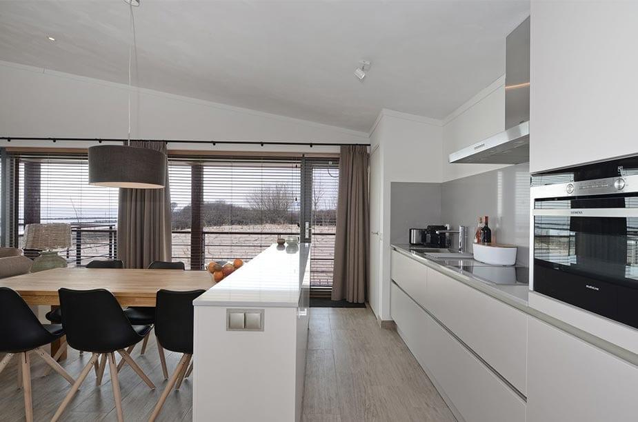 Keuken van een Villa Comfort bij Oasis Punt West