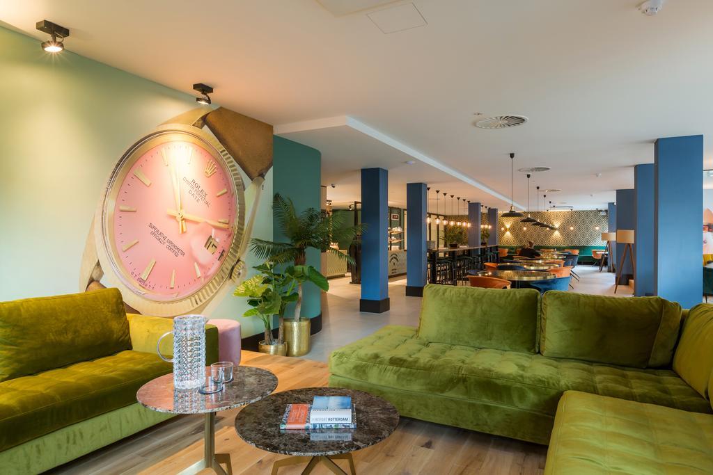 Lounge van The James in Rotterdam