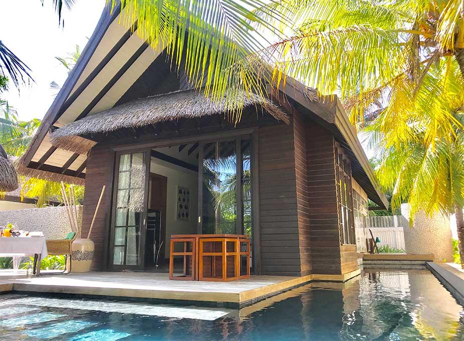 Kamervilla met zwembad bij Jumeirah Vittaveli