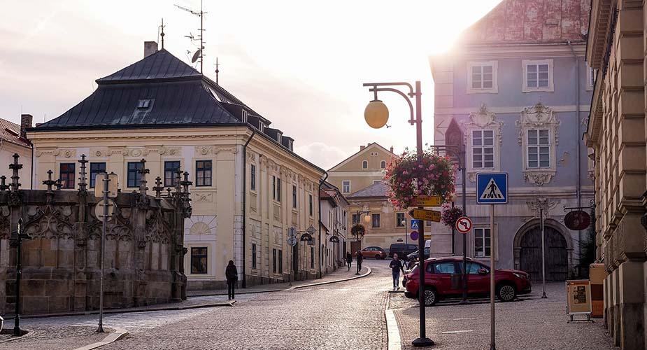 Kutna Hora Tsjechië in de buurt van Praag
