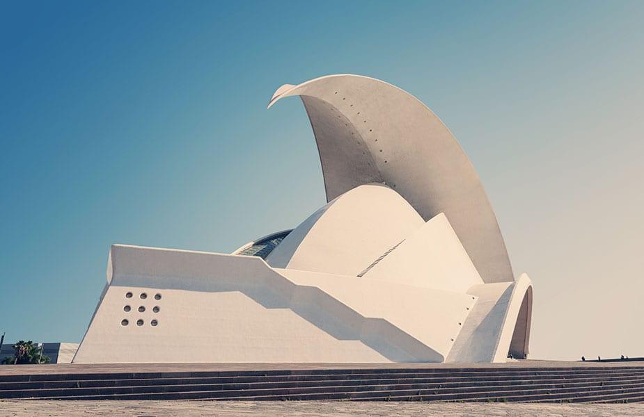 Het bijzondere operagebouw Auditorio de Tenerife