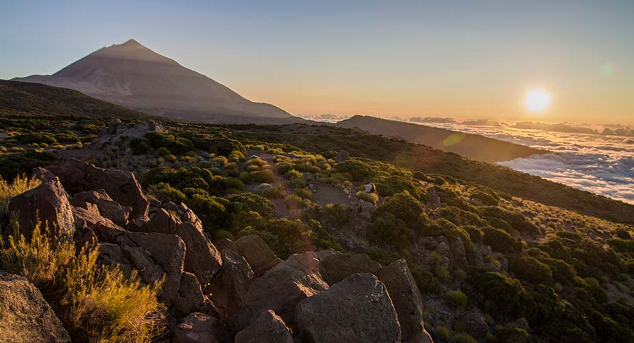 De Teide bij zonsopgang