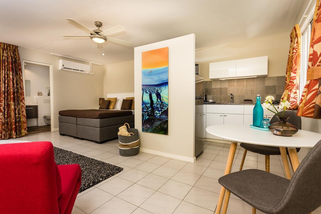 Interieur van appartement Paradera Park Aruba